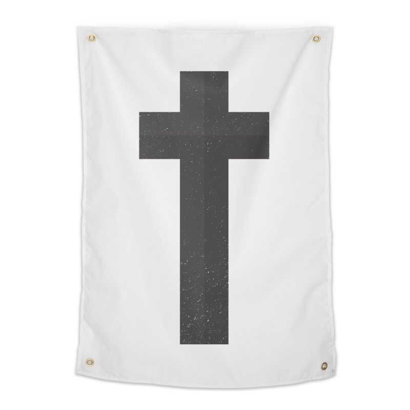 The Cross (black) Home Tapestry by Reformed Christian Goods & Clothing