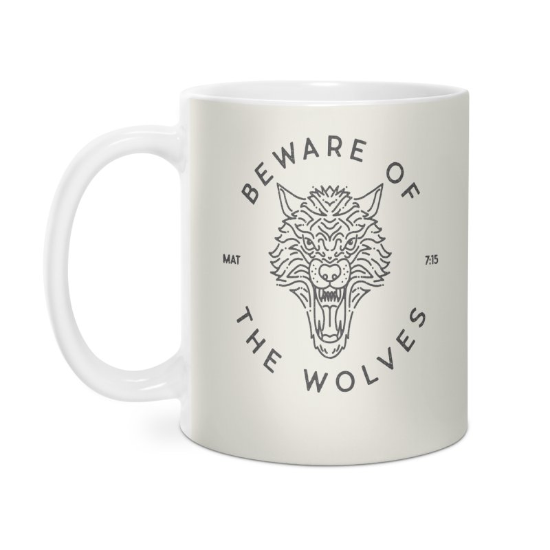 Beware of the Wolves (black)   by Reformed Christian Goods & Clothing