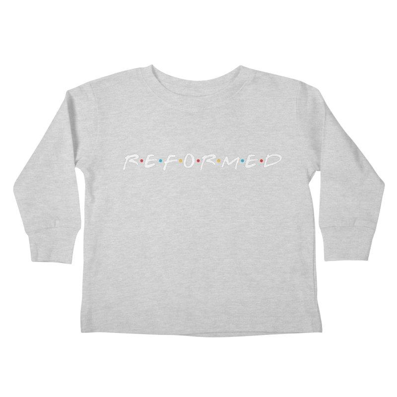 Reformed (Friends) Kids Toddler Longsleeve T-Shirt by Reformed Christian Goods & Clothing