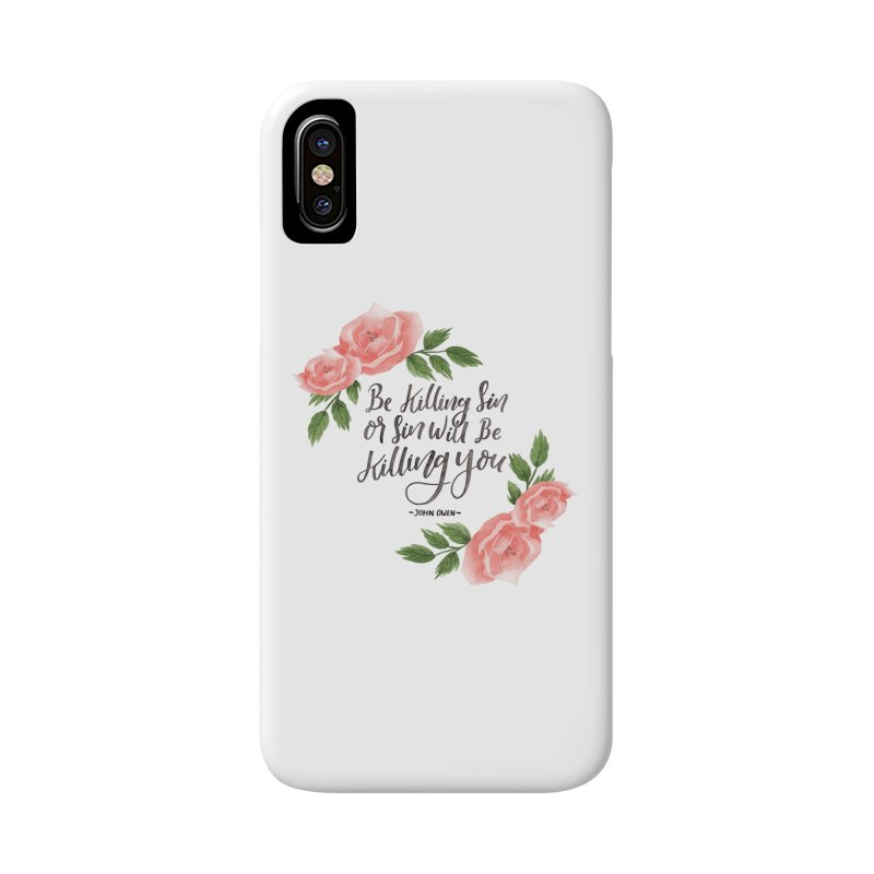 """Be Killing Sin or Sin Will Be Killing You"" - John Owen 