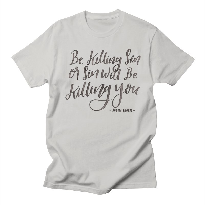 """Be Killing Sin or Sin Will Be Killing You"" - John Owen Men's Lounge Pants by Reformed Christian Goods & Clothing"
