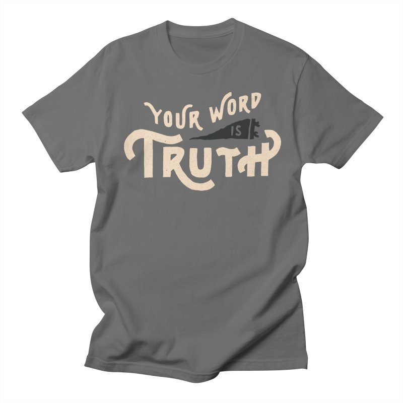 Your Word is Truth (tan) Men's Lounge Pants by Reformed Christian Goods & Clothing
