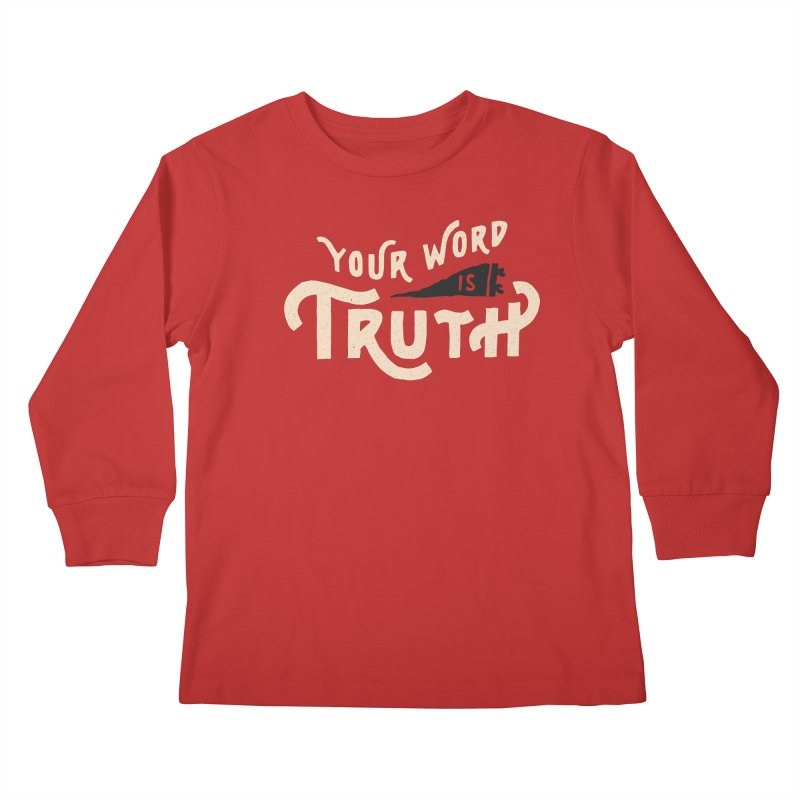 Your Word is Truth (tan) Kids  by Reformed Christian Goods & Clothing