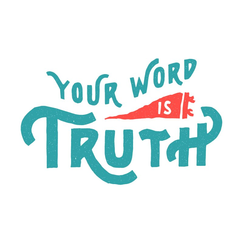 Your Word is Truth (blue) by Reformed Christian Goods & Clothing