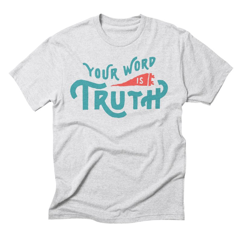 Your Word is Truth (blue) Men's  by Reformed Christian Goods & Clothing