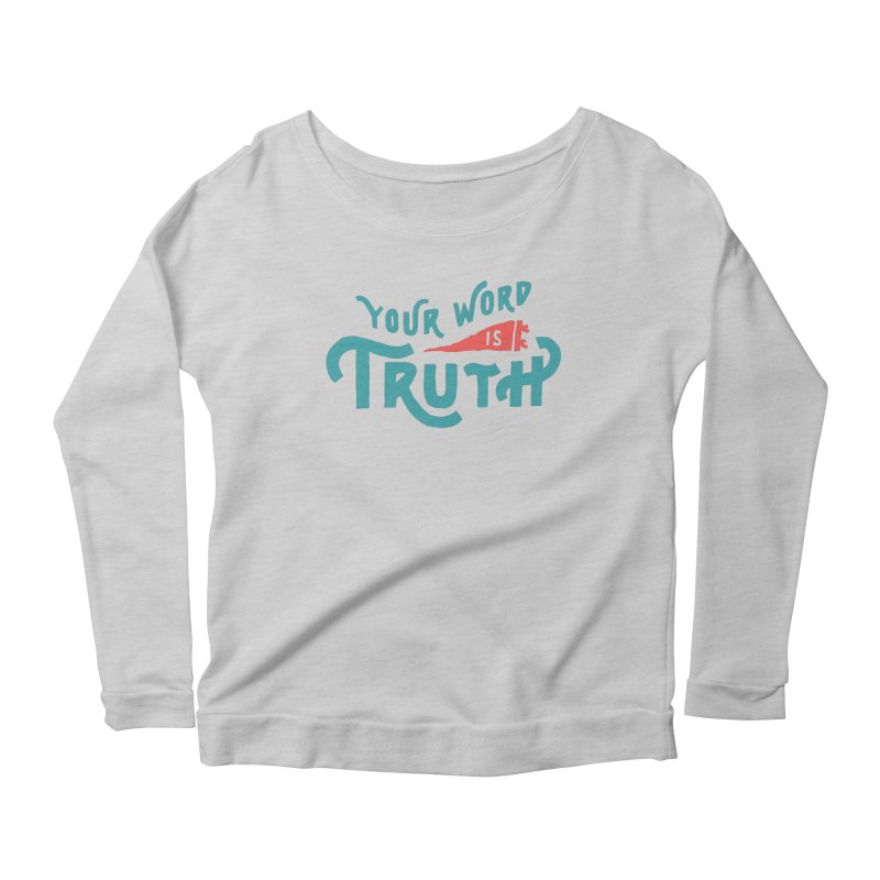 Your Word is Truth (blue) Women's  by Reformed Christian Goods & Clothing