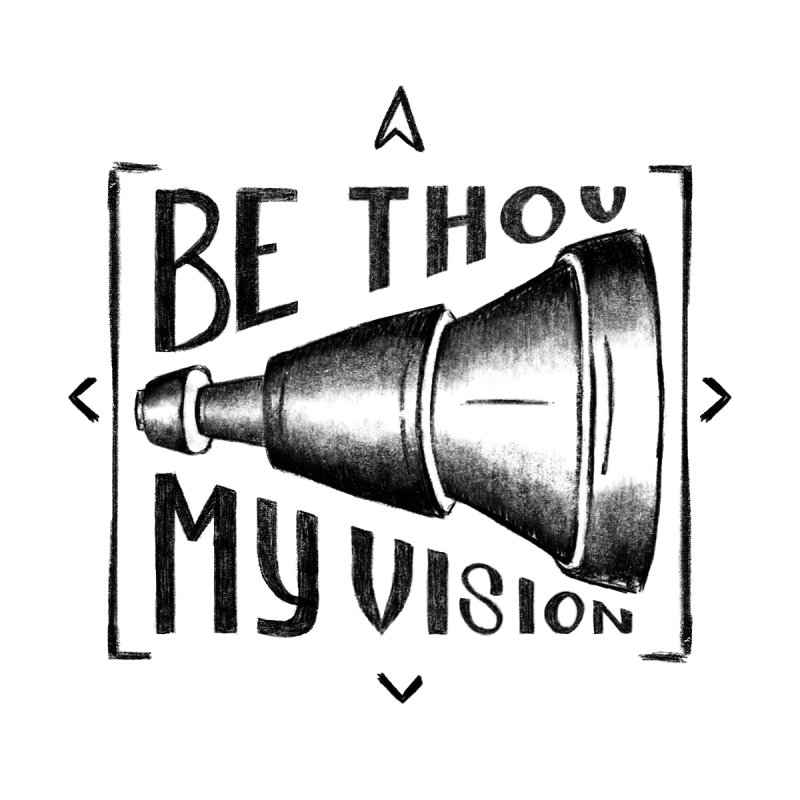 Be Thou My Vision (black) by Reformed Christian Goods & Clothing