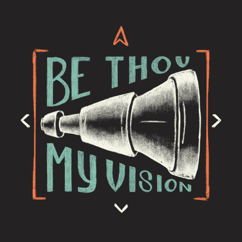 Be Thou My Vision Men's V-Neck by A Worthy Manner Goods & Clothing