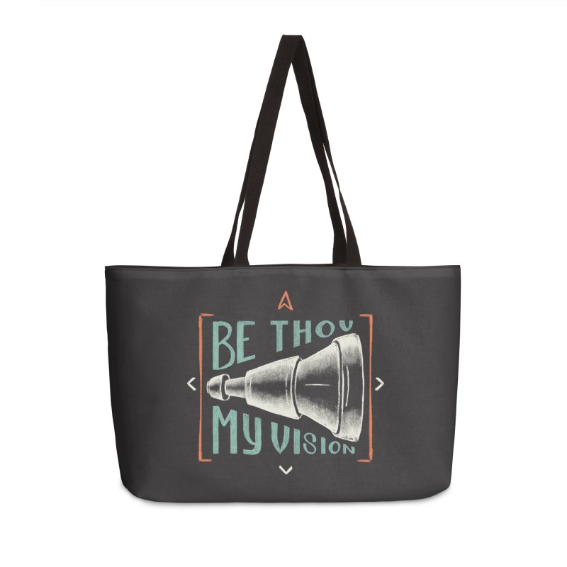 Be Thou My Vision Accessories Weekender Bag Bag by Reformed Christian Goods & Clothing