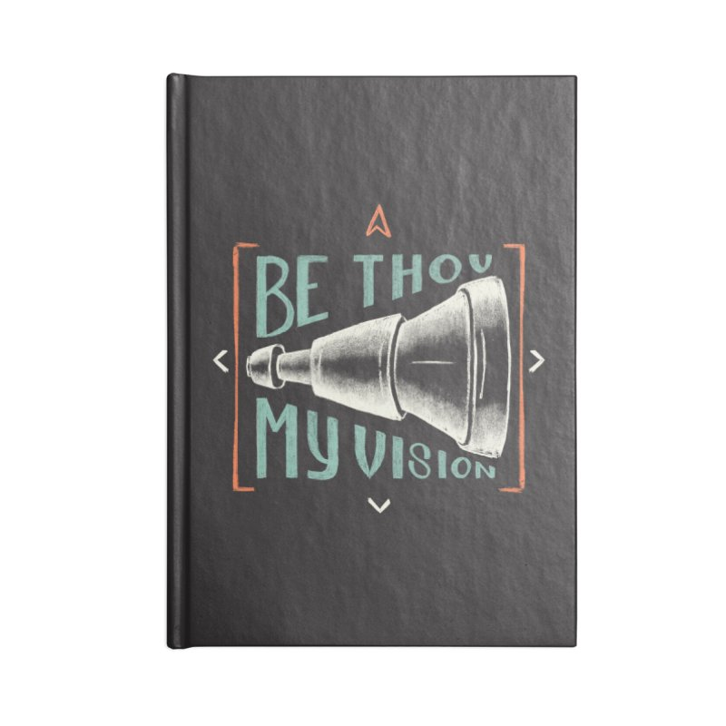 Be Thou My Vision Accessories Lined Journal Notebook by A Worthy Manner Goods & Clothing