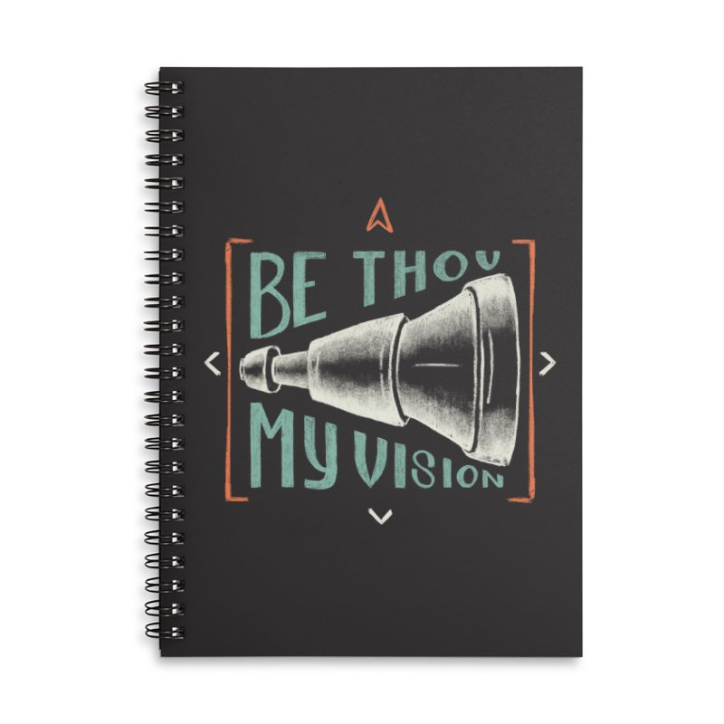 Be Thou My Vision Accessories Lined Spiral Notebook by Reformed Christian Goods & Clothing