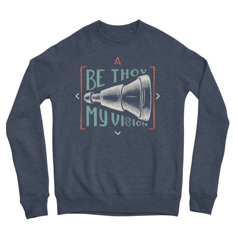 Be Thou My Vision Men's Sponge Fleece Sweatshirt by Reformed Christian Goods & Clothing
