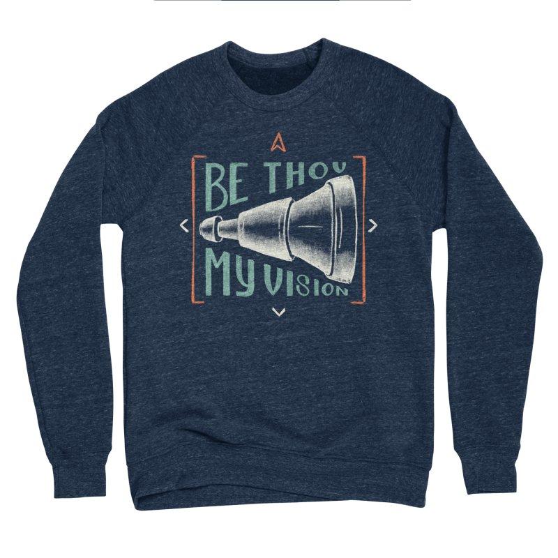 Be Thou My Vision Men's Sponge Fleece Sweatshirt by Reformed Christian Goods & Clothing