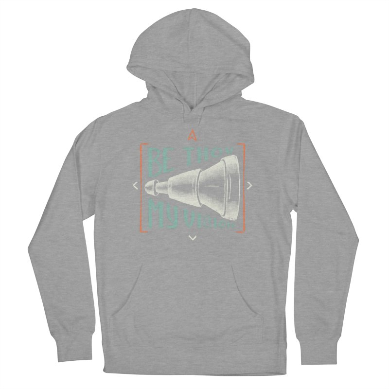 Be Thou My Vision Women's French Terry Pullover Hoody by A Worthy Manner Goods & Clothing