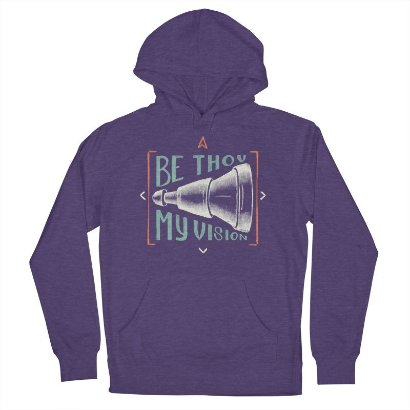 Be Thou My Vision Men's French Terry Pullover Hoody by Reformed Christian Goods & Clothing