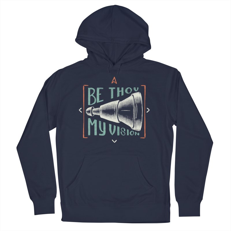 Be Thou My Vision Men's French Terry Pullover Hoody by A Worthy Manner Goods & Clothing