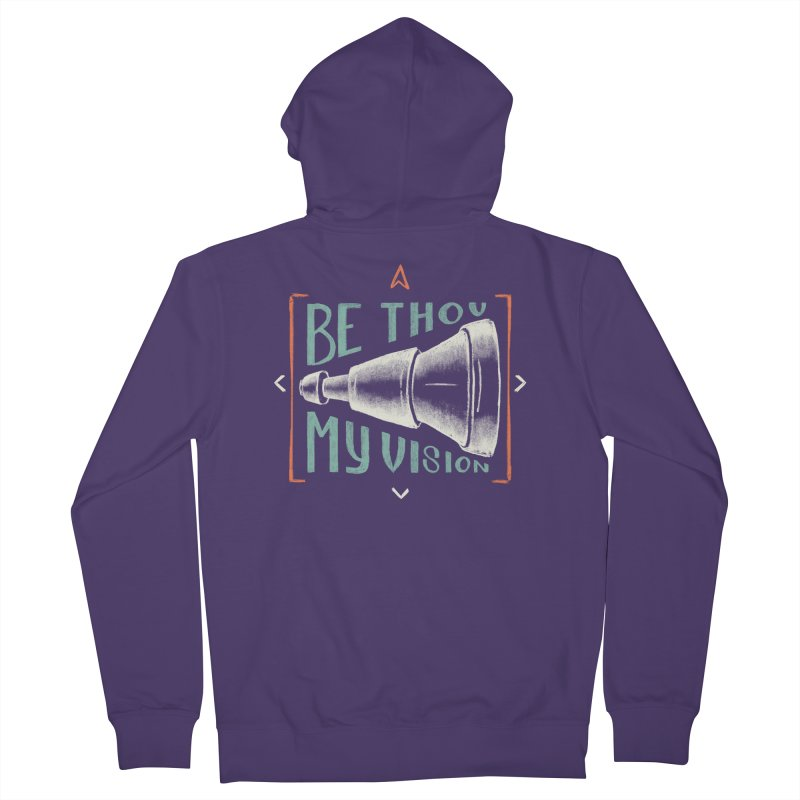 Be Thou My Vision Women's French Terry Zip-Up Hoody by A Worthy Manner Goods & Clothing
