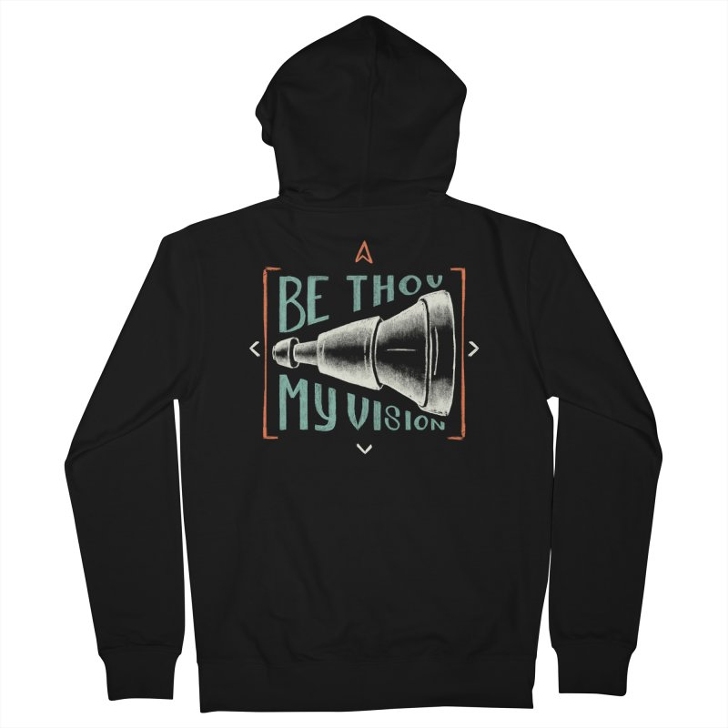 Be Thou My Vision Women's French Terry Zip-Up Hoody by Reformed Christian Goods & Clothing