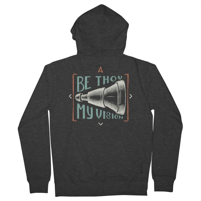 Be Thou My Vision Men's French Terry Zip-Up Hoody by Reformed Christian Goods & Clothing