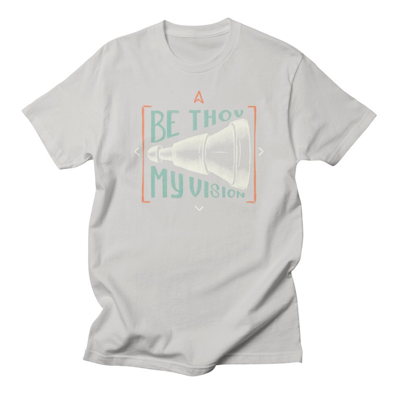 Be Thou My Vision Men's Regular T-Shirt by Reformed Christian Goods & Clothing