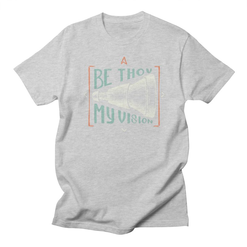 Be Thou My Vision Men's Regular T-Shirt by A Worthy Manner Goods & Clothing