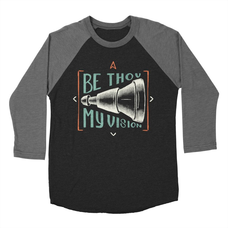 Be Thou My Vision Men's Baseball Triblend Longsleeve T-Shirt by A Worthy Manner Goods & Clothing