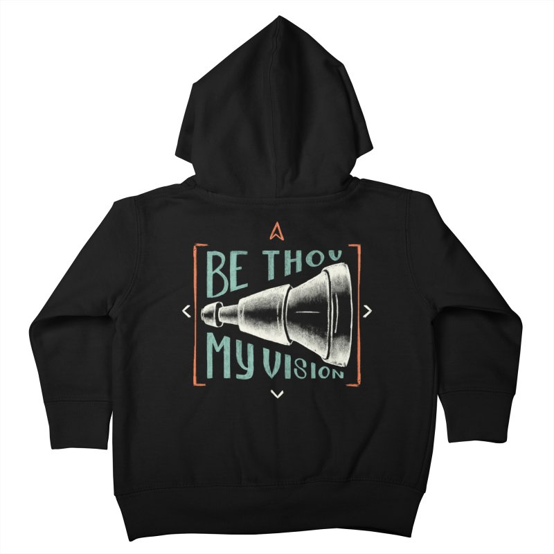 Be Thou My Vision Kids Toddler Zip-Up Hoody by A Worthy Manner Goods & Clothing