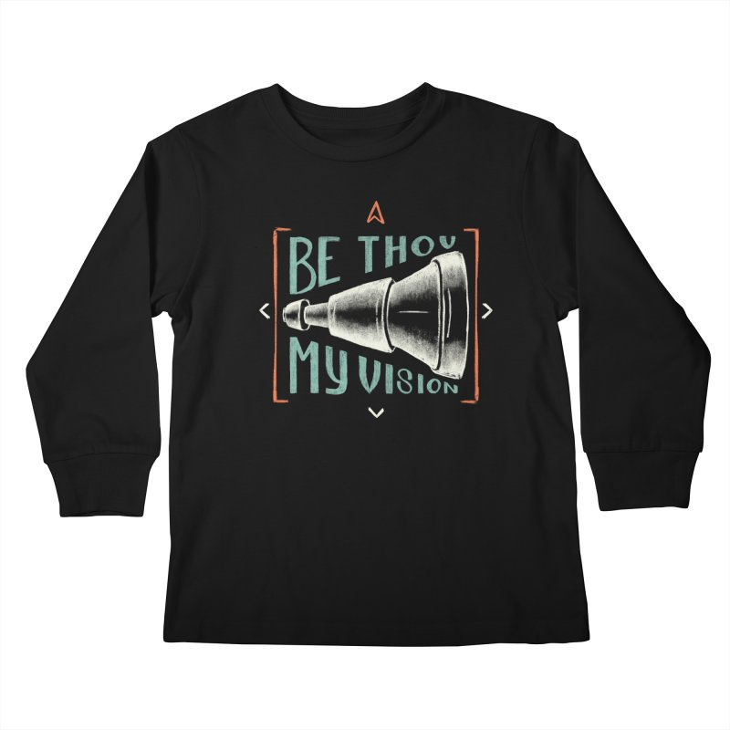Be Thou My Vision Kids Longsleeve T-Shirt by Reformed Christian Goods & Clothing