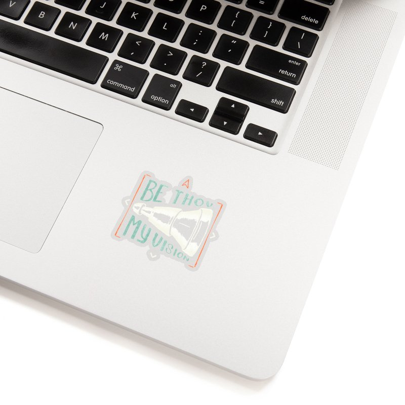 Be Thou My Vision Accessories Sticker by A Worthy Manner Goods & Clothing