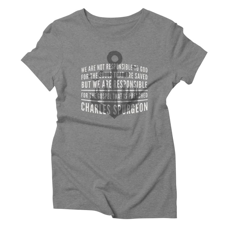 Responsible for the Gospel Women's  by Reformed Christian Goods & Clothing