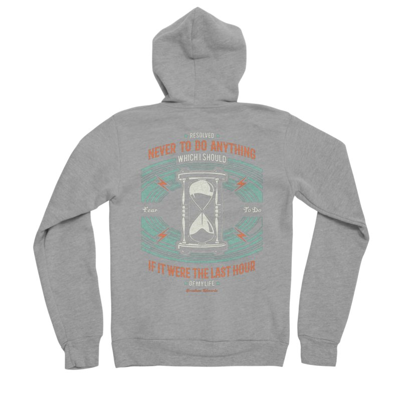 Resolution No. 7 | Jonathan Edwards Women's Sponge Fleece Zip-Up Hoody by A Worthy Manner Goods & Clothing