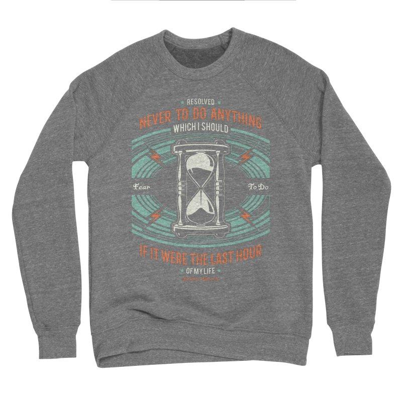 Resolution No. 7   Jonathan Edwards Men's Sponge Fleece Sweatshirt by Reformed Christian Goods & Clothing