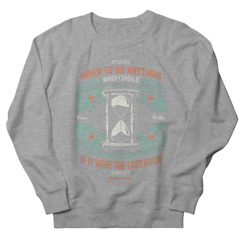 Resolution No. 7 | Jonathan Edwards Men's French Terry Sweatshirt by Reformed Christian Goods & Clothing