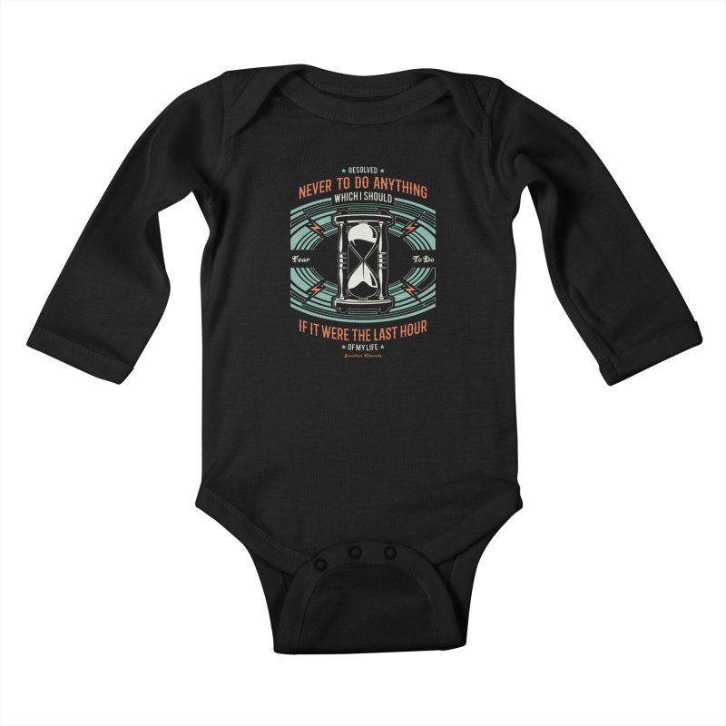 Resolution No. 7 | Jonathan Edwards Kids Baby Longsleeve Bodysuit by A Worthy Manner Goods & Clothing