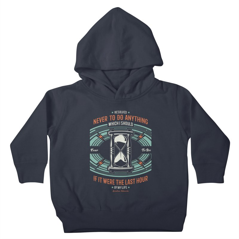 Resolution No. 7   Jonathan Edwards Kids Toddler Pullover Hoody by A Worthy Manner Goods & Clothing