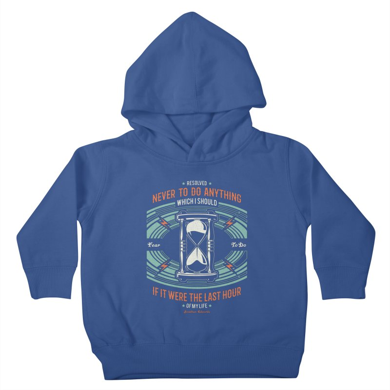 Resolution No. 7 | Jonathan Edwards Kids Toddler Pullover Hoody by A Worthy Manner Goods & Clothing