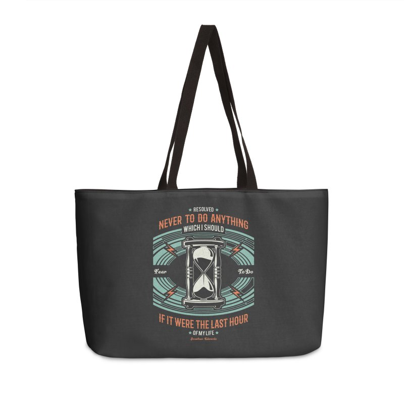 Resolution No. 7 | Jonathan Edwards Accessories Weekender Bag Bag by Reformed Christian Goods & Clothing