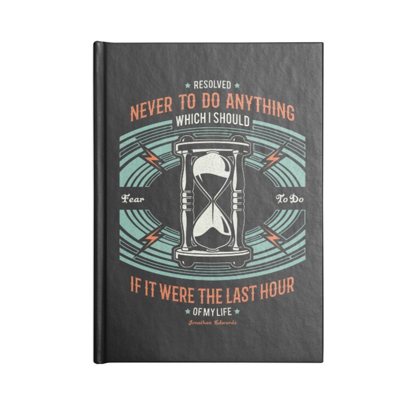 Resolution No. 7 | Jonathan Edwards Accessories Notebook by Reformed Christian Goods & Clothing