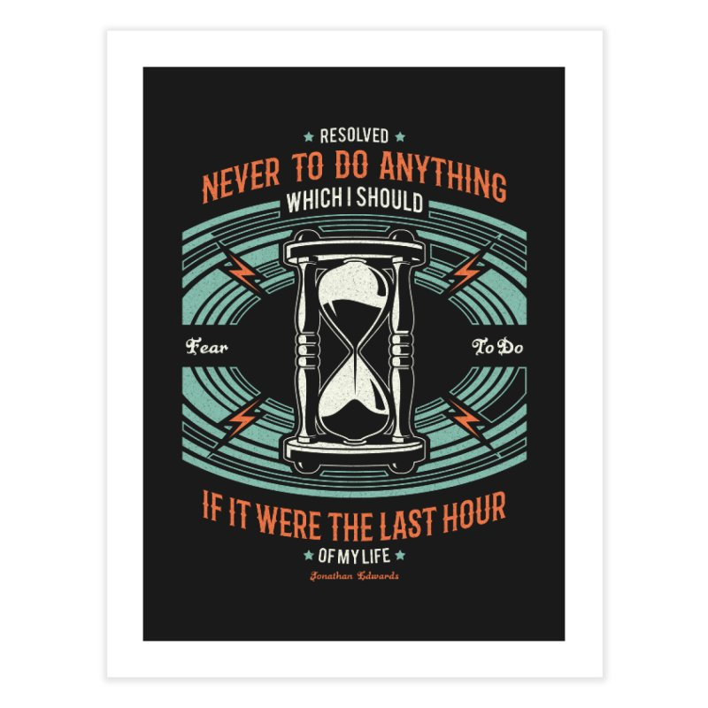 Resolution No. 7 | Jonathan Edwards Home Fine Art Print by Reformed Christian Goods & Clothing