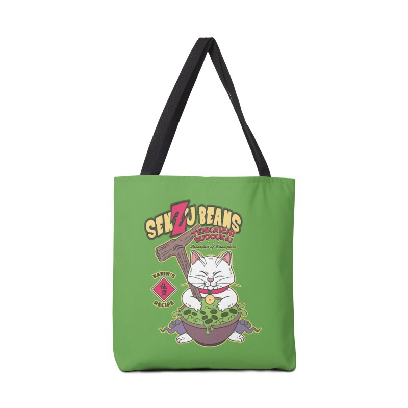DRAGON BALL Z SENZU BEANS Accessories Tote Bag Bag by refritomix