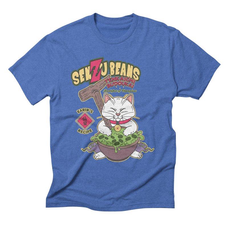 DRAGON BALL Z SENZU BEANS Men's T-Shirt by refritomix