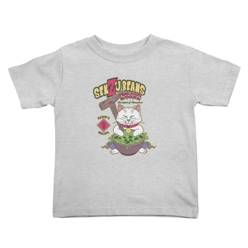 DRAGON BALL Z SENZU BEANS Kids Toddler T-Shirt by refritomix