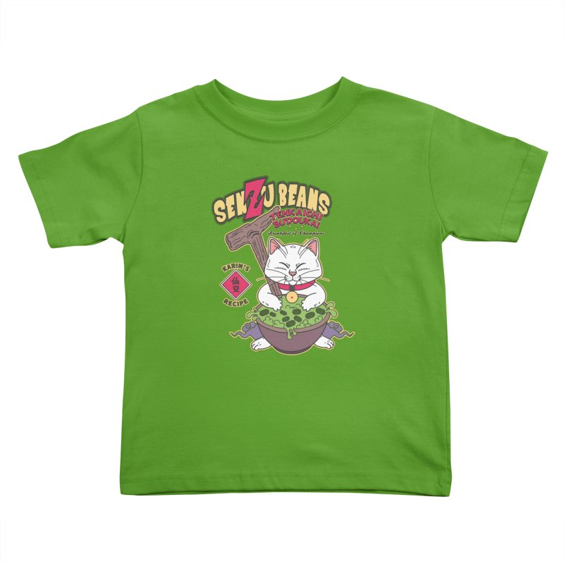 DRAGON BALL Z SENZU BEANS Kids Toddler T-Shirt by refritomix