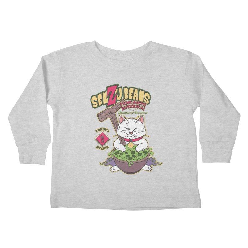 DRAGON BALL Z SENZU BEANS Kids Toddler Longsleeve T-Shirt by refritomix