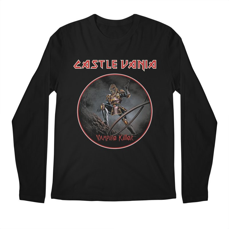 CASTLEVANIA & IRON MAIDEN Men's Regular Longsleeve T-Shirt by refritomix