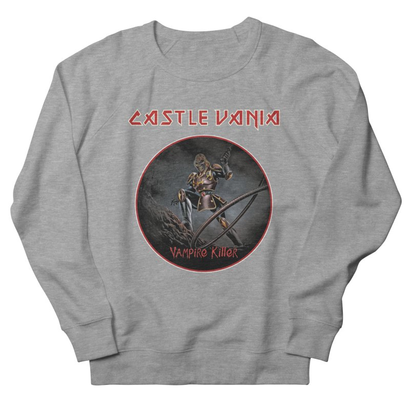 CASTLEVANIA & IRON MAIDEN Women's French Terry Sweatshirt by refritomix