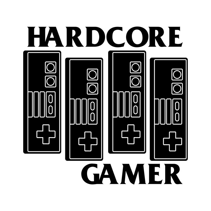 HARDCORE GAMER Men's T-Shirt by refritomix