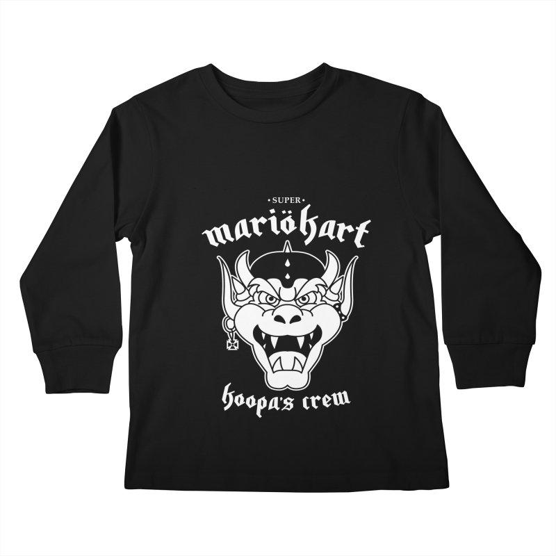 SUPER MARIO KART KOOPA'S CREW Kids Longsleeve T-Shirt by refritomix