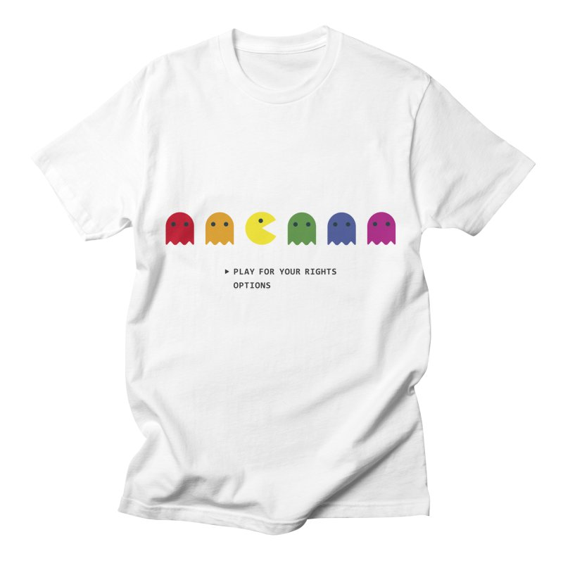 PLAY FOR YOUR RIGHTS Men's T-Shirt by refritomix