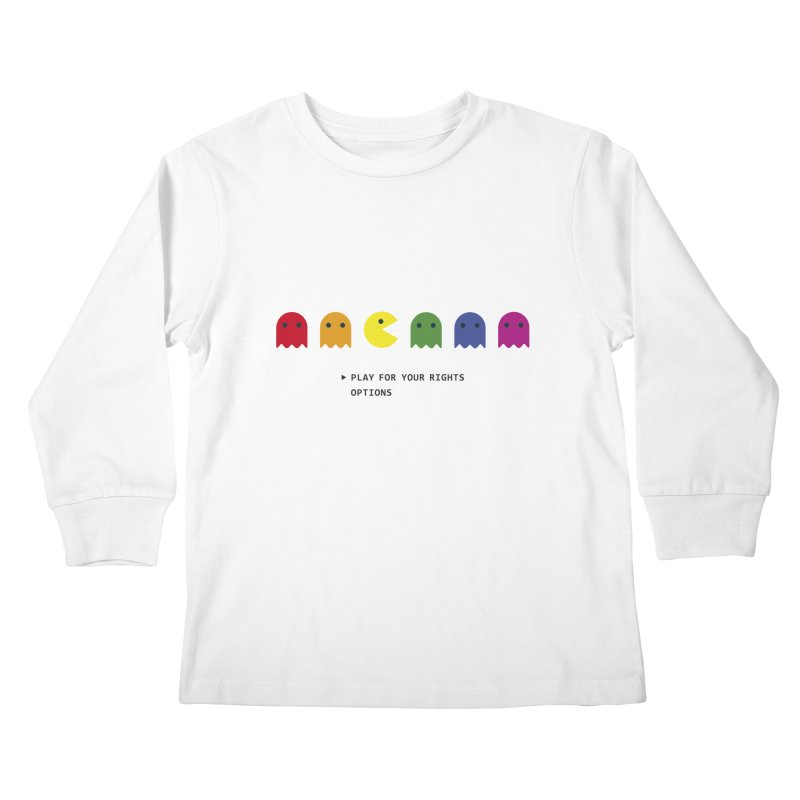PLAY FOR YOUR RIGHTS Kids Longsleeve T-Shirt by refritomix
